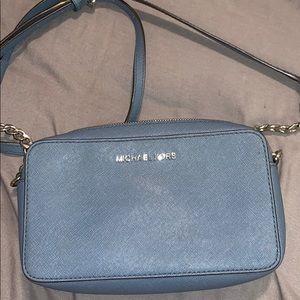 Light blue MK shoulder bag
